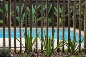 Timber Batten Pool Fence Formed Gardens Pool Fence Pool Fencing Landscaping Pool Landscaping