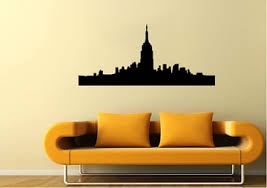 Empire State Building Wall Stickers Wallartdirect Co Uk