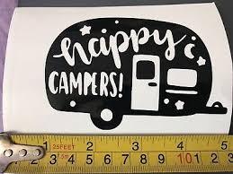Happy Camper Caravan Vinyl Decal Sticker 200mm X 118mm Archives Statelegals Staradvertiser Com