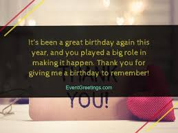best thank you messages for birthday wishes quotes and notes