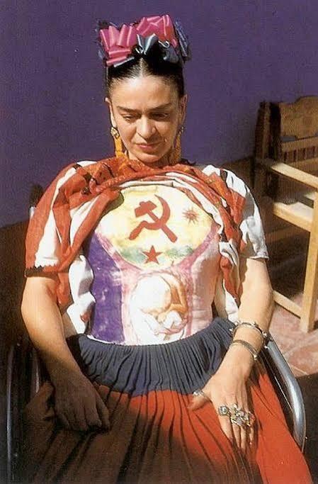 """Resultado de imagen para frida comunista"""""""