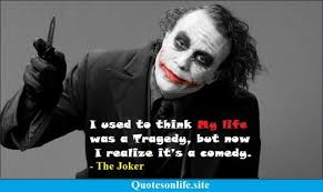 joker quotes quotes on life