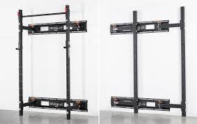 2020 folding wall mounted squat racks