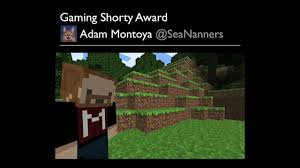 Adam Montoya (@SeaNanners) Accepts the #Gaming Shorty Award - YouTube