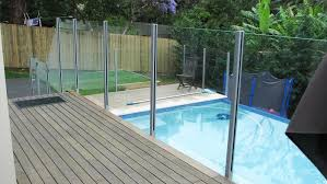 Aluminium Semi Frameless Glass Pool Fencing Veraco