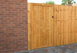 6ft Featheredge Gate 1 82m High Forest Garden