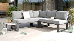 garden corner bench with coffee table