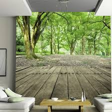 3d Photo Wallpaper Forest Nature Designer Wall Mural Wallpaper Welcoming Pine Trees Seamless Background Forest Wall Decal Wish