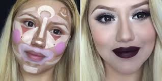 clown contouring is the next makeup