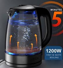 best glass electric kettle top 5 best