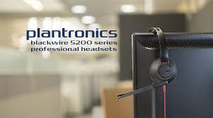 Plantronics Blackwire 5200 Headsets: Simple USB-C