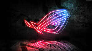 hd wallpaper neon s 4k rog