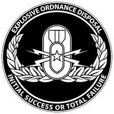 Eod Stickers 0198 Explosive Ordnance Disposal Ebay