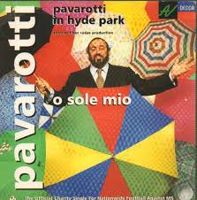 Luciano Pavarotti - O Sole Mio - Pavarotti in Hyde Park - Amazon ...