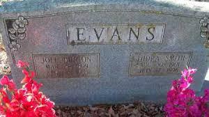 EVANS, JOEL BURTON - Van Buren County, Arkansas | JOEL BURTON EVANS -  Arkansas Gravestone Photos