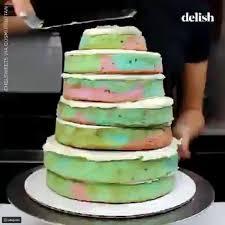 فيديو طريقة صنع كيك حورية البحر والأناناسة الضاحكة رائج