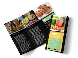 t nutrition brochure template