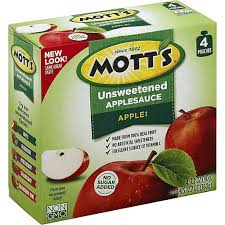 motts applesauce unsweetened apple