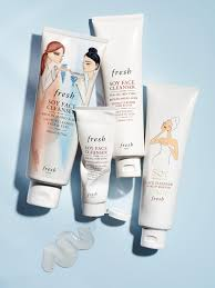 one of fresh soy face cleanser is