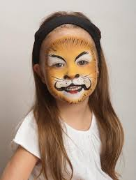 lion face paint goodtoknow