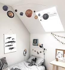 Planet Mobile Kids Room Inspiration Big Kids Room Creative Kids Rooms