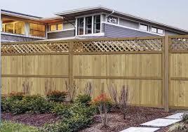 100 Lattice Top Fence Material List At Menards