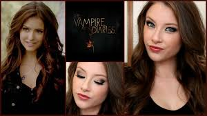 katherine pierce makeup hair tutorial