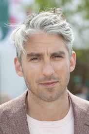 grey hairstyles for men to look smart