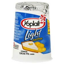 yoplait light yogurt lemon