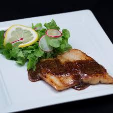 mustard and honey pan fried cod
