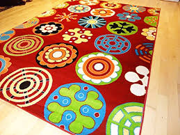 Soft Children Rug Modern 7x10 Rug Red Kids Rug 7 X10 Playroom Area Rug Child Room Kids Rugs Carpet Large 7x10 Buy Online In Fiji As Quality Rugs Products In Fiji