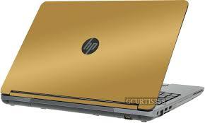 Gold Vinyl Lid Skin Cover Decal Fits Hp Probook 655 G1 Laptop For Sale Online Ebay