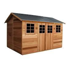 2 53 x 2 55m willow cedar shed