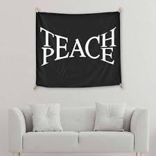 Teach Peace Yes We Vibe