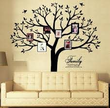 Amazon Com Large Family Photo Tree Wall Decor Wall Decals Tree Branch Family Like Branches On A Tree Wall Decorations For Living Room Baby