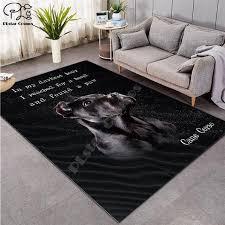 Dog Carpet Kids Room Soccer Rug Field Parlor Bedroom Living Room Floor Jeromeburns101