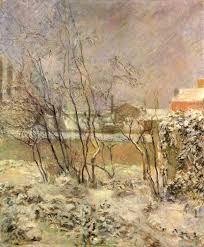 Gauguin, Paul: Schnee in der Rue Carcel - Zeno.org