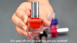 colorbar l off nail lacquer