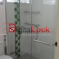 shower screen and glass door