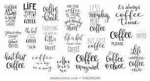 coffee art quotes stock illustrations images vectors shutterstock