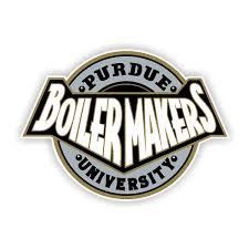 Purdue Boilermakers F Vinyl Die Cut Decal Sticker 4 S