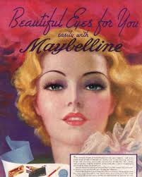 100 years of maybelline ads show how