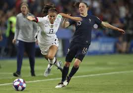 Alex Morgan adjusts her game at Women's World Cup