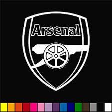 Arsenal Decal Sticker Car Window Emblem Premier League Epl Gunners Ebay