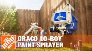 Rent The Graco Lo Boy Paint Sprayer The Home Depot Youtube