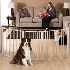 Top Paw Super Wide Convertible Pet Gate Dog Dog Doors Gates Petsmart