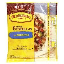 old el paso flour tortillas 8 ct