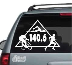 Triathlon Decals Stickers Decal Junky