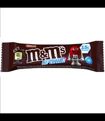 m m hi protein bar available at real