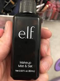 e l f cosmetics studio makeup mist and